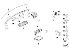 Original Parts for E70 X5 4.8i N62N SAV / Heater And Air