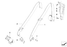 Original Parts for E70 X5 4.8i N62N SAV / Restraint System