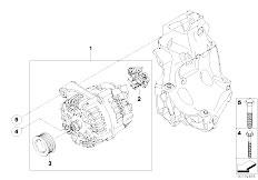 Pièces detachées pour les E92 320d N47 Coupe / Engine