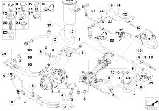 Original Parts for E70 X5 3.0si N52N SAV / Steering/ Power