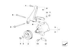 Original Parts for E36 M3 S50 Sedan / Engine/ Belt Drive