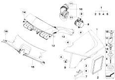 Original Parts for E83N X3 2.0i N46 SAV / Fuel Preparation