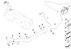 Original Parts for E85 Z4 M3.2 S54 Roadster / Fuel Supply