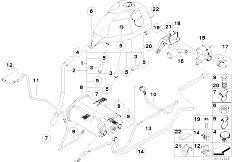 Original Parts for E53 X5 3.0d M57 SAV / Fuel Supply/ Fuel