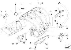 Original Parts for E90 320si N45 Sedan / Engine/ Cylinder