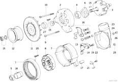 Original Parts for E36 320i M50 Sedan / Engine Electrical
