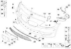 Original Parts for E85 Z4 M3.2 S54 Roadster / Vehicle Trim