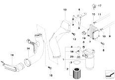 Original Parts for E39 530d M57 Touring / Fuel Preparation