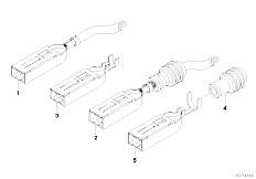 Original Parts for E87 116i N45 5 doors / Vehicle