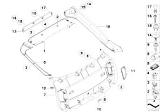 Original Parts for E71 X6 35iX N54 SAC / Vehicle Trim
