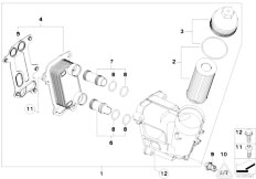 Original Parts for E83N X3 2.0d N47 SAV / Engine/ Emission