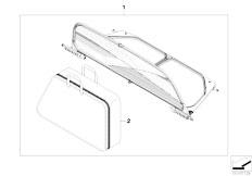 Original Parts for E88 118i N46N Cabrio / Sliding Roof