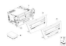 Pièces detachées pour les E92 320d N47 Coupe / Audio