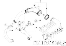 Original Parts for F02 740Li N54 Sedan / Fuel Preparation