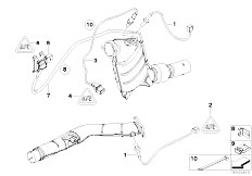 Original Parts for E60 530d M57N Sedan / Exhaust System