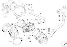 Original Parts for E36 320i M50 Cabrio / Fuel Preparation