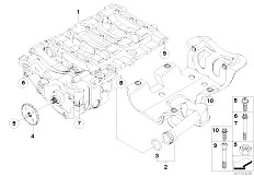 Original Parts for E61N 520i N43 Touring / Engine/ Engine
