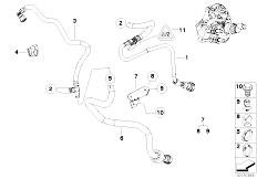 Pièces detachées pour les E92 320d N47 Coupe / Fuel