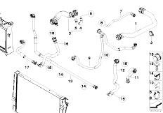 Original Parts for E70 X5 3.0sd M57N2 SAV / Radiator
