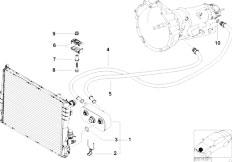 Pièces detachées pour les E46 318i M43 Sedan / Radiator