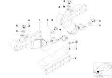 Original Parts for E39 520i M54 Sedan / Engine/ Vacuum