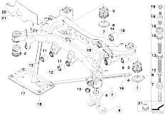 Original Parts for E92 335i N54 Coupe / Rear Axle