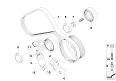 Original Parts for E92 M3 S65 Coupe / Engine/ Belt Drive