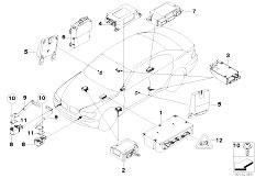 Original Parts for E67 760LiS N73 Sedan / Audio Navigation