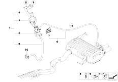 Original Parts for E90 330i N52 Sedan / Exhaust System