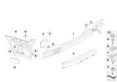 Original Parts for E92 M3 S65 Coupe / Vehicle Trim/ Heat