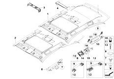 Original Parts for E81 118d N47 3 doors / Vehicle Trim