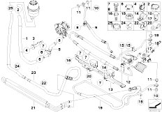 Original Parts for E92 M3 S65 Coupe / Steering/ Hydro