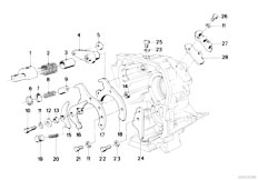 Original Parts for E21 318i M10 Sedan / Manual
