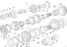 Original Parts for E46 325Ci M54 Coupe / Manual