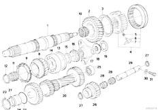 Original Parts for E30 325ix M20 2 doors / Manual