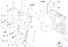 Original Parts for E36 318ti M44 Compact / Engine/ Cooling