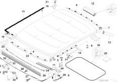 Original Parts for E36 318ti M44 Compact / Sliding Roof