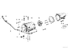 Original Parts for E12 525 M30 Sedan / Automatic