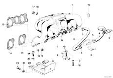 Original Parts for E21 323i M20 Sedan / Engine/ Vacuum
