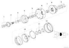 Original Parts for E36 320i M50 Sedan / Automatic