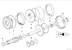 Original Parts for E34 535i M30 Sedan / Automatic