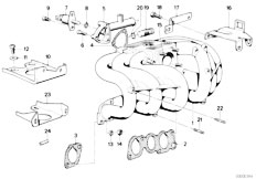 Original Parts for E30 320i M20 2 doors / Engine/ Engine