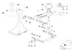 Original Parts for E31 850CSi S70 Coupe / Gearshift