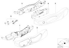 Original Parts for E53 X5 4.4i N62 SAV / Seats/ Sports