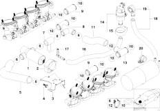 Original Parts for E39 M5 S62 Sedan / Fuel Preparation
