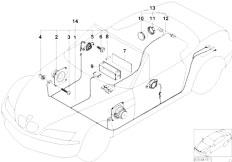 Original Parts for Z3 Z3 1.8 M43 Roadster / Audio