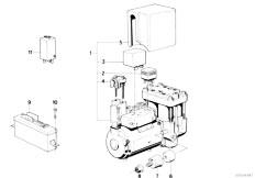 Original Parts for E32 740iL M60 Sedan / Brakes/ Brake