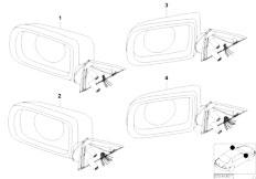 Original Parts for E38 730i M60 Sedan / Vehicle Trim/ Door