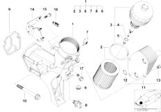 Original Parts for E46 320d M47 Touring / Engine/ Cooling