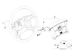 Original Parts for E46 330i M54 Sedan / Steering/ Hydro
